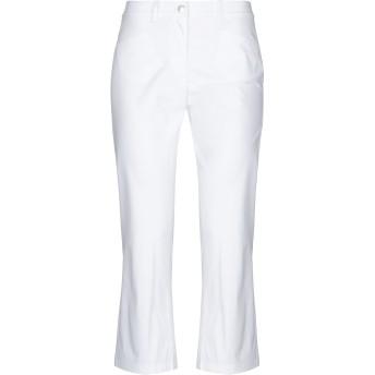 《セール開催中》MOSCHINO レディース パンツ ホワイト 36 コットン 97% / 指定外繊維 3%