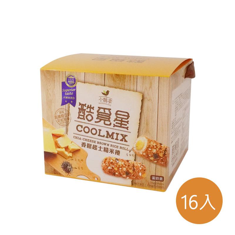 [自然主意] 香鬆起士糙米捲16入禮盒*3件組 (奶蛋素)
