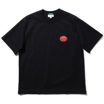 (BEAMS MEN/ビームス メン)LACOSTE × BEAMS / 別注 ヴィンテージ バッジ Tシャツ/メンズ MARINE
