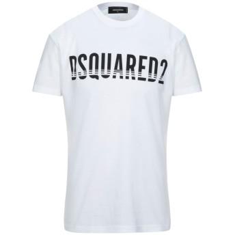 《セール開催中》DSQUARED2 メンズ T シャツ ホワイト XL コットン 100%