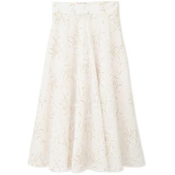 ジル スチュアート JILLSTUART ミシェル刺繍ロングスカート CHALK 4【税込10,800円以上購入で送料無料】