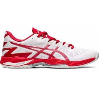 asics/アシックス 1053A017 メンズ・ユニセックス V-SWIFT FF 2 WHITE/CLASSIC RED(101)バレーボールシューズ