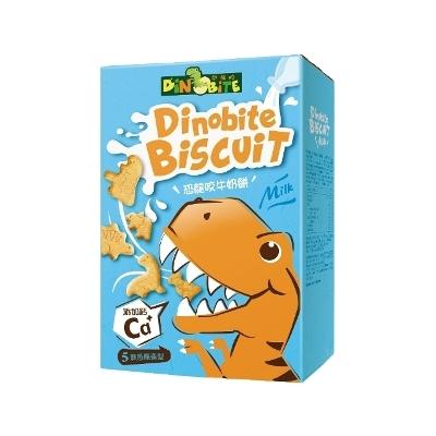 [Dinobite 恐龍咬] 恐龍造型加鈣牛奶餅 (60g/盒)