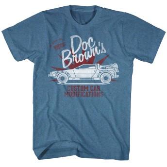 【予約商品】 BACK TO THE FUTURE バックトゥザフューチャー (公開35周年記念) - DOC BROWN'S/Tシャツ/メンズ 【公式/オフィシャル】