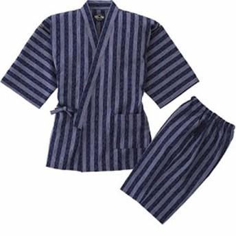 『キャッシュレスP5%還元』高級甚平 製造直販 久留米ちぢみ織綿麻甚平 全行程 日本製 S/M/L/LL/3L