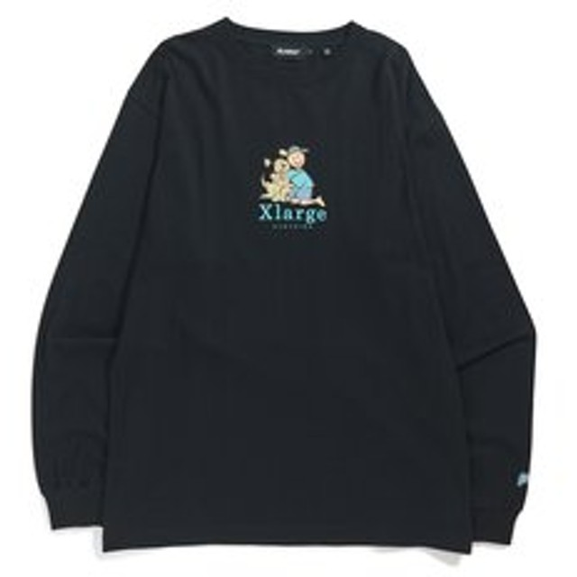 【XLARGE:トップス】L/S TEE PLAYFUL