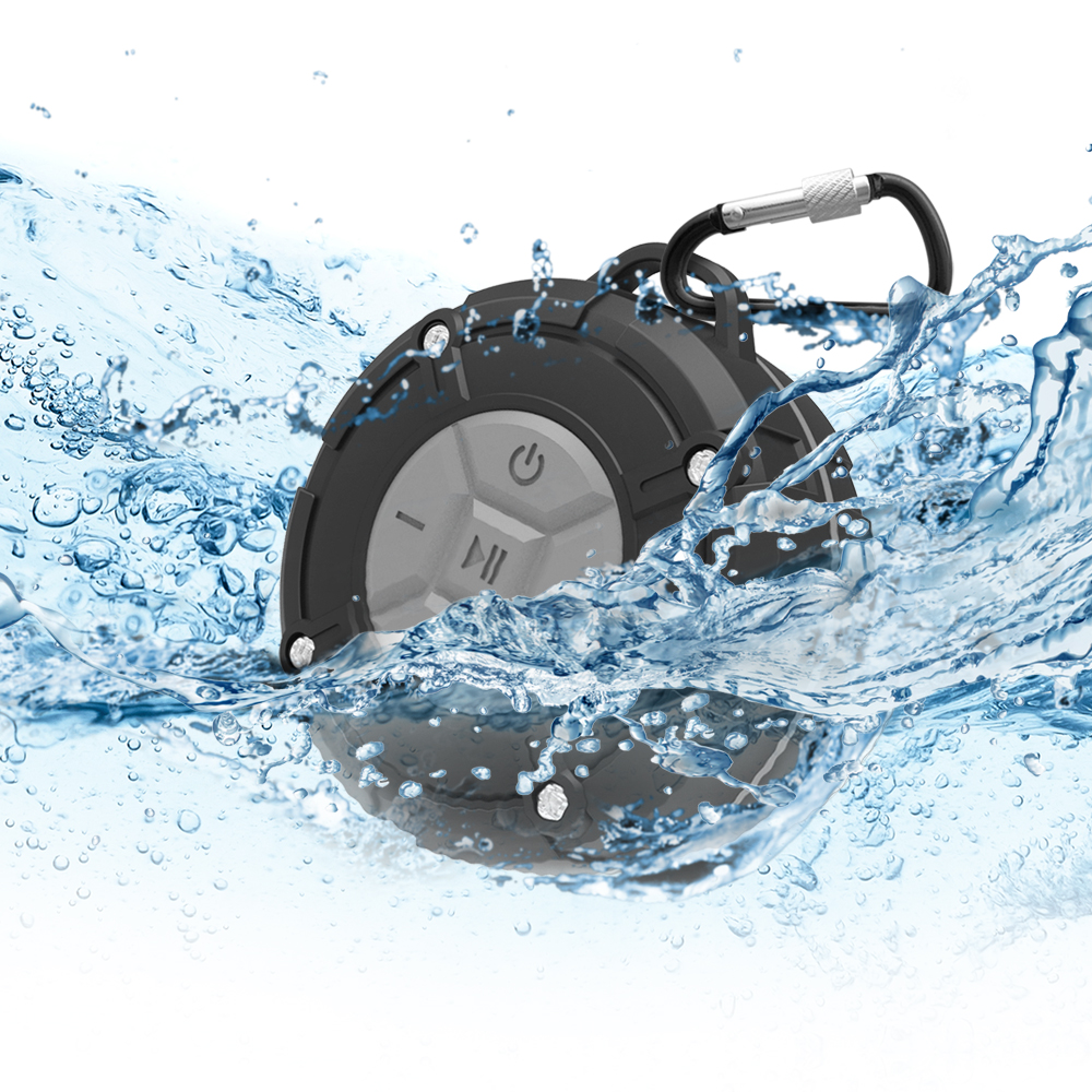 [RONEVER] 運動型防水藍牙喇叭MAP120 灰