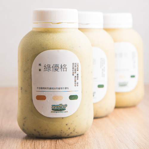 [2060太空吧] 台灣在地純素百香果綠優格 (320ml*4罐) (新鮮含運價) (全素)