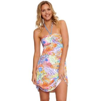 LingaDore 5111P-1-204 Bossa Multicoloured Floral Print Beach Dress 14