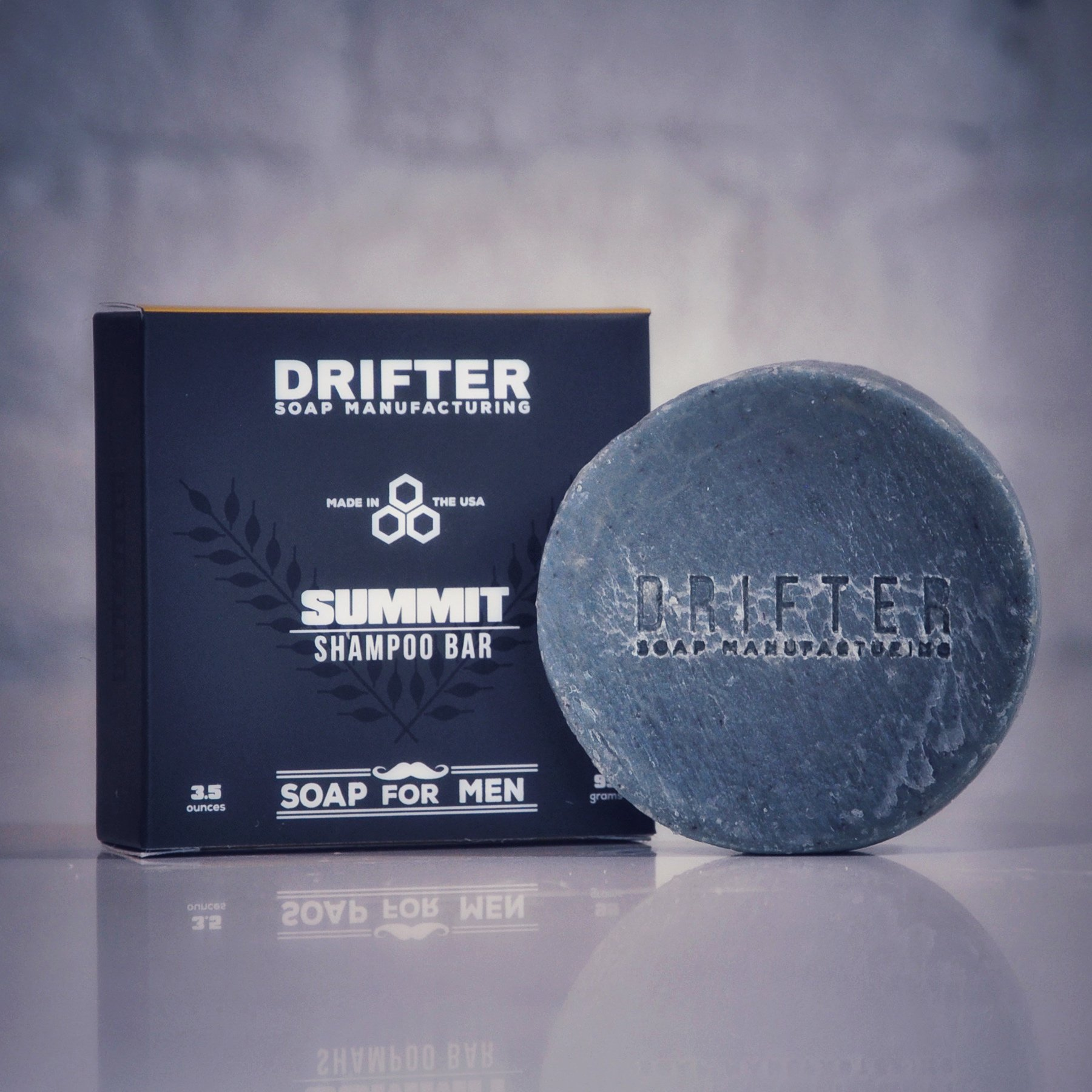 [美國 Drifter] Summit 男士洗髮餅