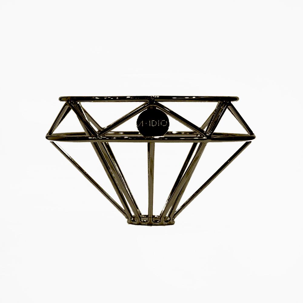 [ A-IDIO ] 鑽石咖啡濾杯-迷霧黑