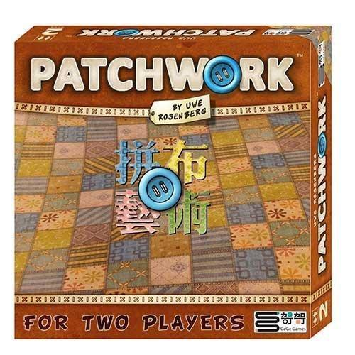 拼布藝術 Patchwork 拼布對決 繁體中文版 台北陽光桌遊商城