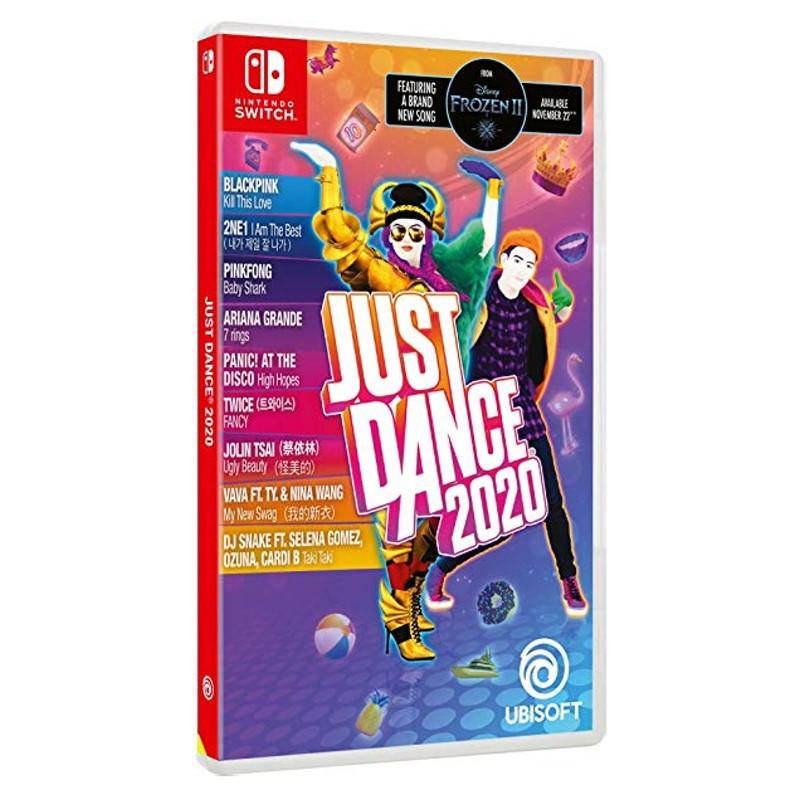 Nintendo Switch Just Dance 舞力全開2020 中文版全新品【台中星光電玩】