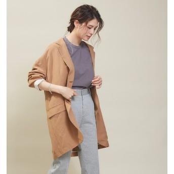 【カリテ/qualite】 ビックシルエットシャツジャケット