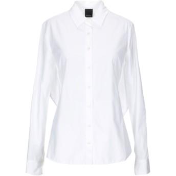 《セール開催中》PINKO レディース シャツ ホワイト 40 100% コットン