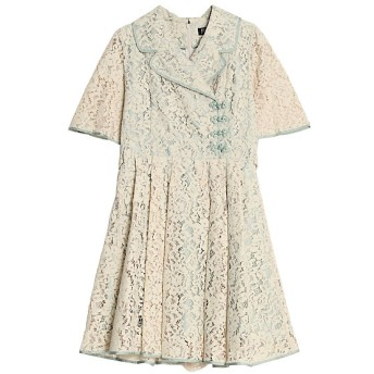 <PAMEO POSE/パメオポーズ> Mandarin Button Dress ベージュ【三越・伊勢丹/公式】