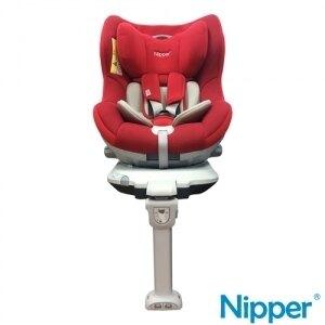 Nipper 360度 ISOFIX 兒童汽車安全座椅 玫瑰紅