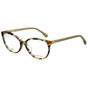 FENDI 時尚光學眼鏡 (琥珀)FF1002J