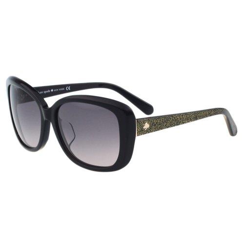 Kate Spade-造型方框 太陽眼鏡(黑色)
