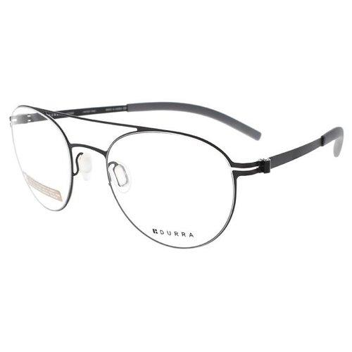 VYCOZ 眼鏡 DURRA系列雙槓圓框 黑 DR7005 BLK