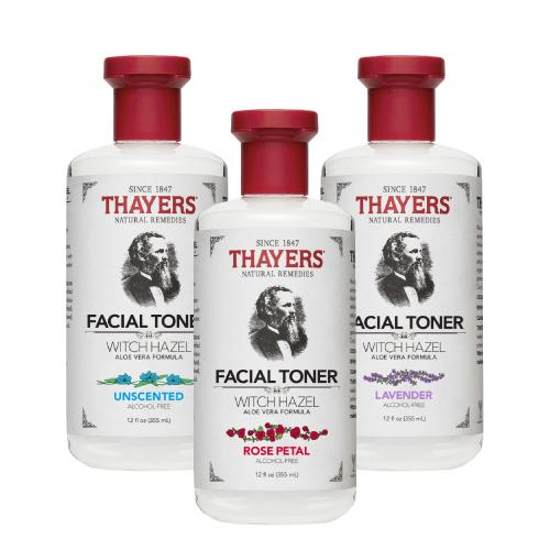 [Thayers] 金縷梅化妝水(玫瑰、蘆薈無香、薰衣草3種香味組合-355ml)