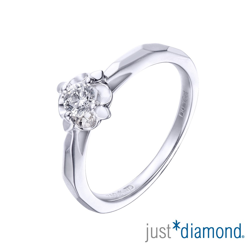 【Just Diamond】The Atrium凡爾賽庭園系列 18K金鑽石戒指