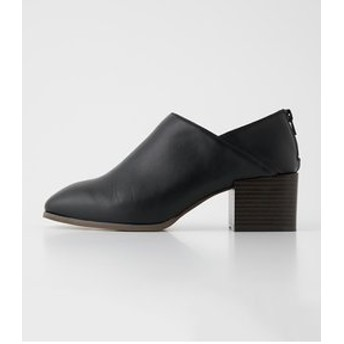 【AZUL by moussy:シューズ】WOOD LIKE HEEL SHOES