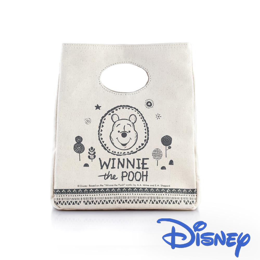 [Disney] 野餐維尼 手提保溫帆布袋(花火款)