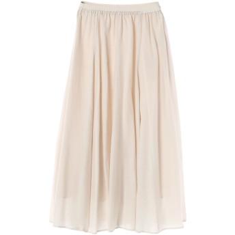 【6,000円(税込)以上のお買物で全国送料無料。】エアリーフレアースカート