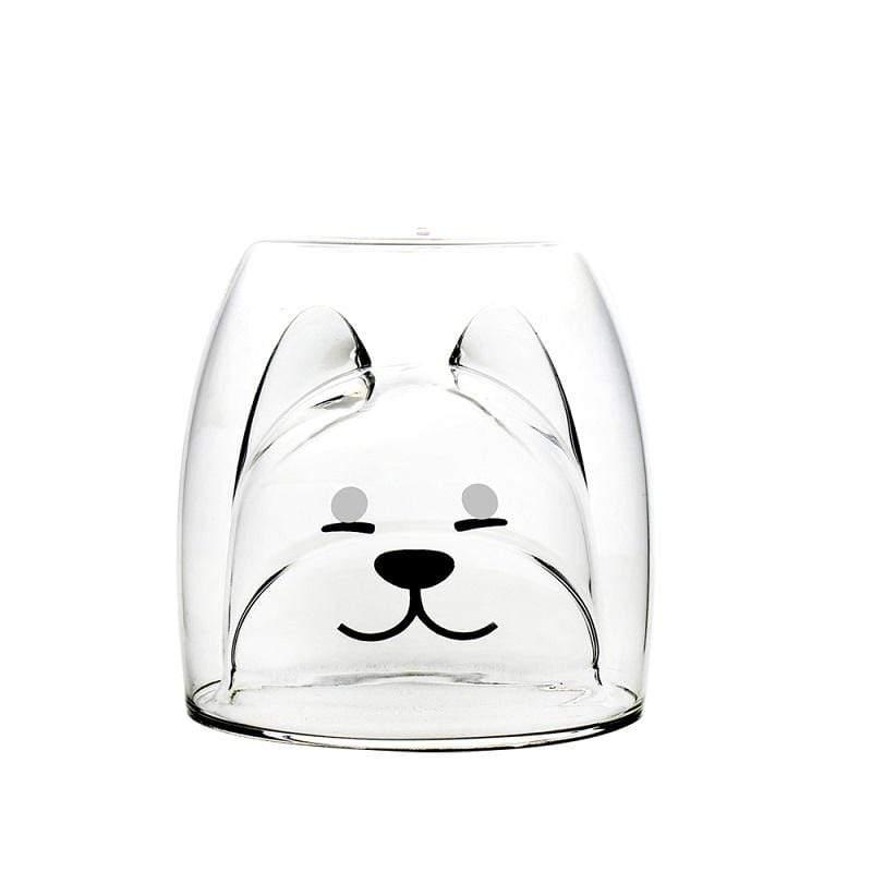 雙層耐熱玻璃杯旺福款200ML