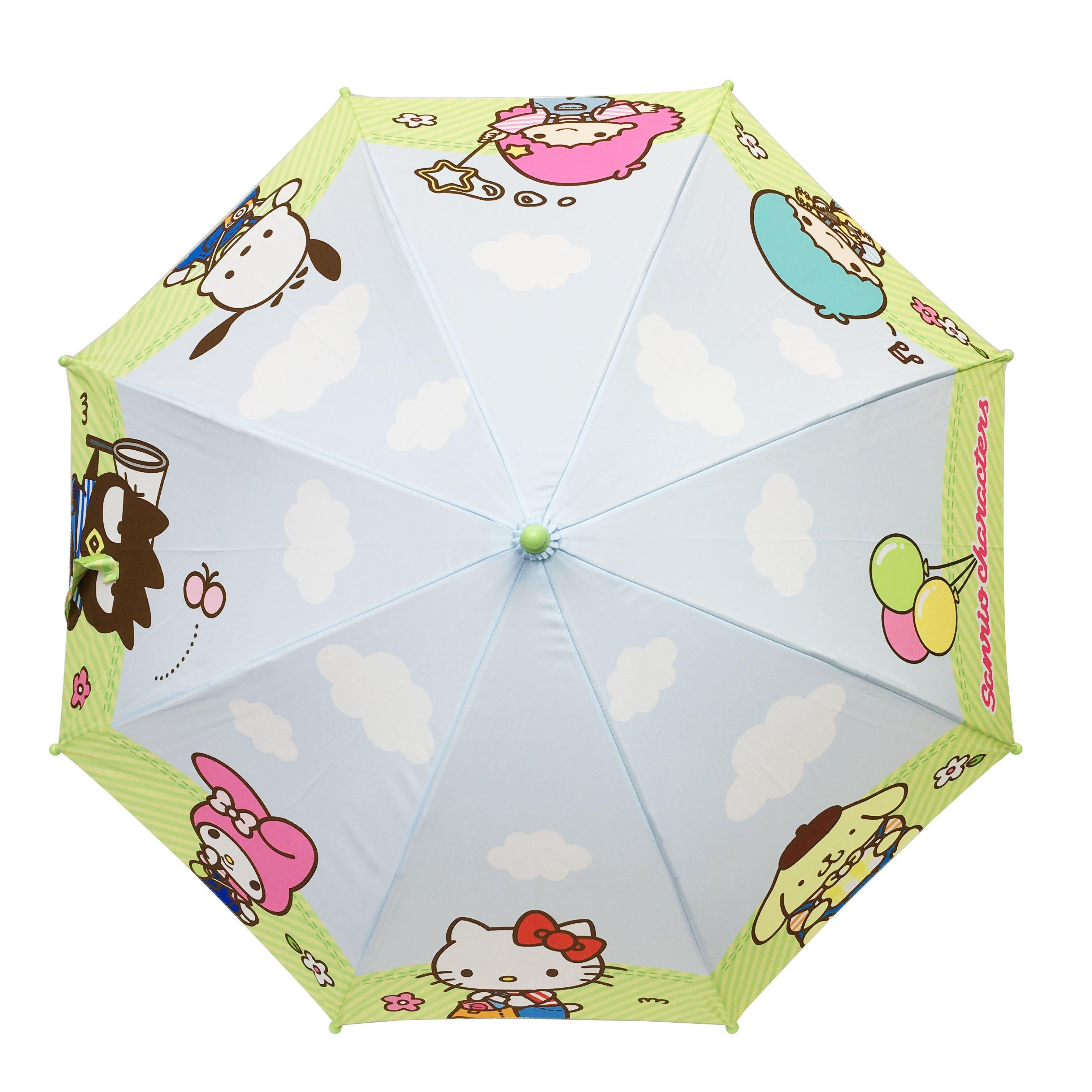 長傘 三麗鷗 美樂蒂 kikilala 帕恰狗 布丁狗 酷企鵝 Hello Kitty 直傘 正版授權