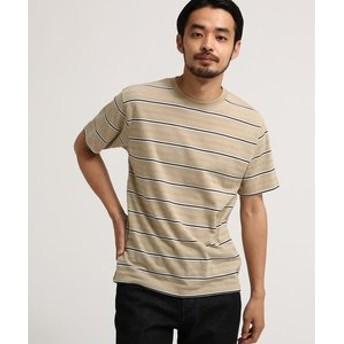 【BASE STATION:トップス】SB JQD ボーダー 半袖Tシャツ