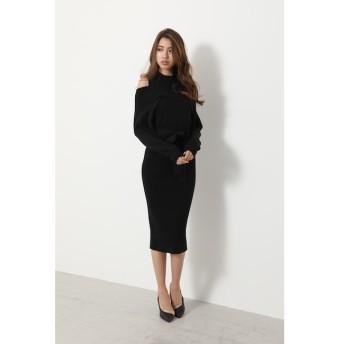 【リエンダ/rienda】 Layered style Knit OP