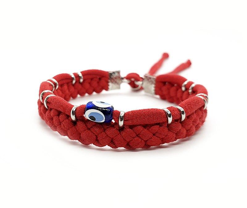 幸運紅色編織手鍊邪惡之眼保護最佳朋友禮物