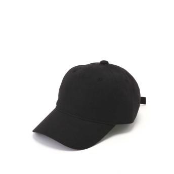 【公式/フリーズマート】リネンキャップ/女性/ストール・帽子/ブラック/サイズ:/麻 52% コットン 48%