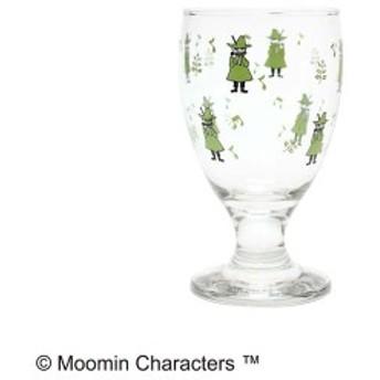 MOOMIN(ムーミン) ジュースグラス simple スナフキン MM-G015 ガラス 足つきグラス