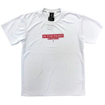 itp2002hh IN THE PAINT(インザペイント)オリジナル バスケットボール半袖Tシャツ ITP2002HH 0103:ホワイト/レッド L