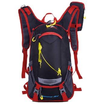 乗馬用観光機器屋外バックパック、防水、軽量、ヘルメット、バスケットボールバッグ-red