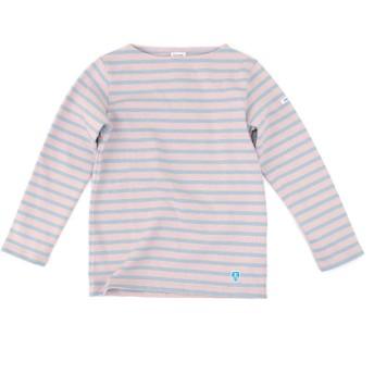 ORCIVAL オーシバル レディース COTTON LOURD STRIPE バスクシャツ L/S[B211]サイズ0 SNAPDRAGON/SAGE
