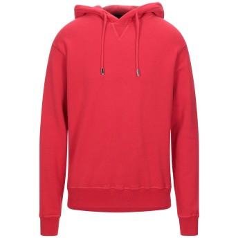 《セール開催中》DSQUARED2 メンズ スウェットシャツ レッド S コットン 100% / ポリウレタン