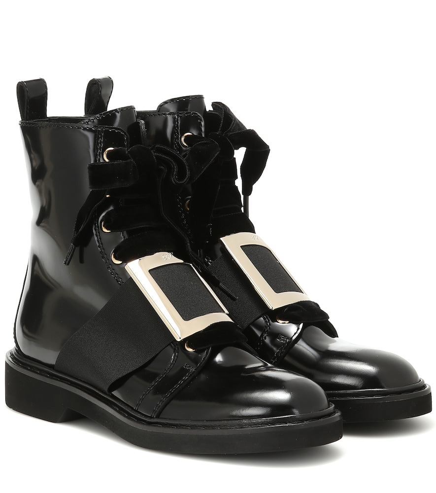 Viv' Rangers leather ankle boots