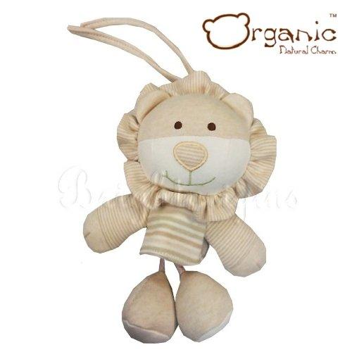 【Organic】有機棉嬰兒玩具-搖籃音樂鈴(小獅)