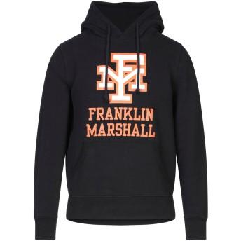 《セール開催中》FRANKLIN & MARSHALL メンズ スウェットシャツ ブラック S コットン 100%