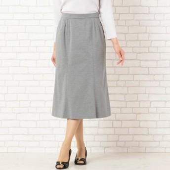 【NEW】ロブジェ(LOBJIE)/[セットアップ対応]ストレッチ素材のフレアースカート