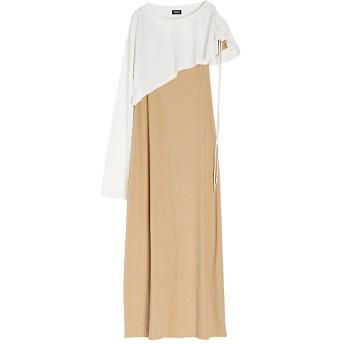 <PAMEO POSE/パメオポーズ> 2way Halfway Dress ホワイト【三越・伊勢丹/公式】