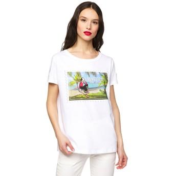 BENETTON (women) 【Popeyeコラボ】オリーブプリントTシャツ・カットソー(ホワイト系その他)【返品不可商品】