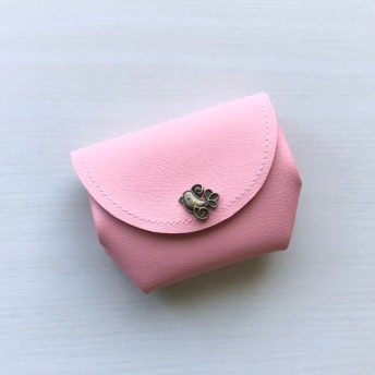 ホックタイプ・お好きなカラーで・とっても便利なふっくらお財布・受注販売
