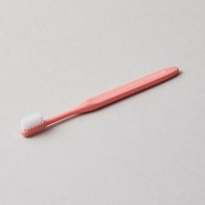 O'PRECARE OKIT美齒雙層柔纖刷毛牙刷 蜜桃粉