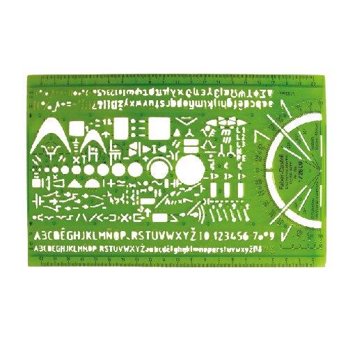 【FABER-CASTELL】輝柏 邏輯電路 電子工程 綜合定規 / 片 172500
