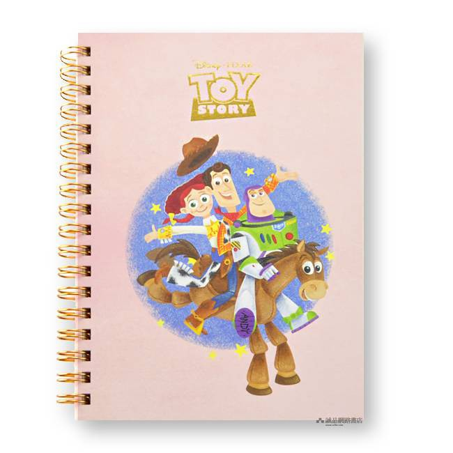 sun-star Disney Ring Note/ B6/ Toy Story 2 筆記本 誠品